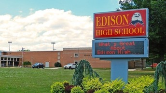 """Edison High School """"Home of the Eagles"""""""