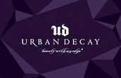 Beautiful gift boxes from Urban Decay Cosmetics