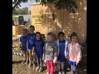 Kindergarten Visit to the Pumpkin Patch