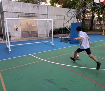 ISPTA donations: Vibraphone and Football Goals