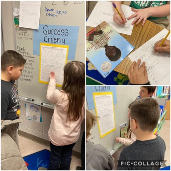 Success Criteria with Henry's Freedom Box in Mrs. Williams' Class