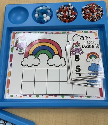 Spring Centers in Preschool