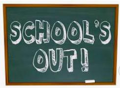 Last Day of School - Thursday, June 4