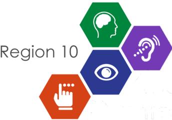 Region 10 Accessibility Logo