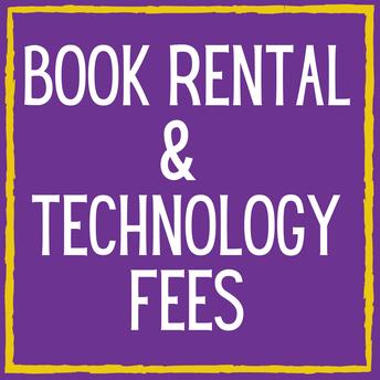 Book Rental & Technology Fees