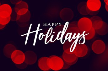 PTO Holidays at Hillcrest- DUE 12/11