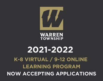 IMPORTANT MESSAGE: 2021-2022 K-8 Virtual and 9-12 Online Learning Program
