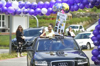 See photos from Crownhill's 5th grade promotion drive-thru event