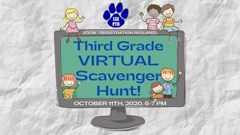 3rd GRADE Virtual Scavenger Hunt!