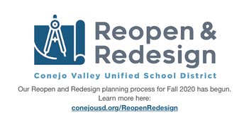 REDESIGN AND REOPEN LINK FOR CVUSD
