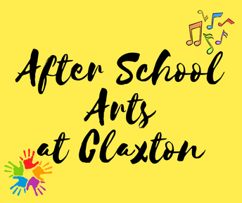After School Arts Sign-Up! Claxton Spring Classes