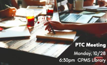 October PTC Meeting with Canvas/Parentvue Q & A, Monday, 10/28