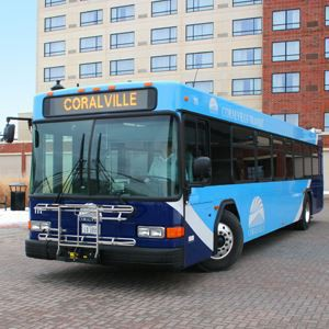 Free bus ride to the Coralville Library!