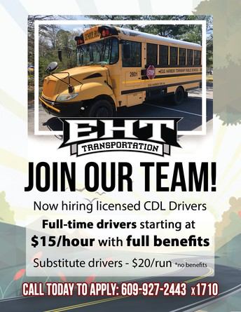 EHT TRANSPORTATION: JOB OPENINGS
