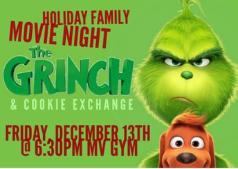 Holiday Movie Night and Cookie Exchange
