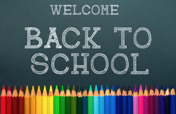 Welcome back- First Day of School August 15th