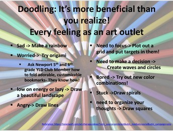 Go Ahead and Doodle, It's Good for You!