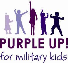 Purple Up for our Military Kids!