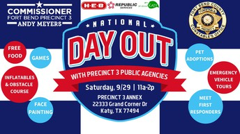 National Day Out - September 28th, 2019