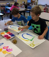 Ms. Cox's Art Class at Mann