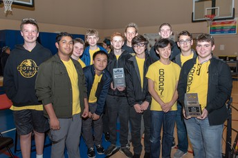 Foothill Knight Time Bots at Final TUSD Tournament