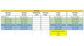 Fifth Grade ISTEP Schedule