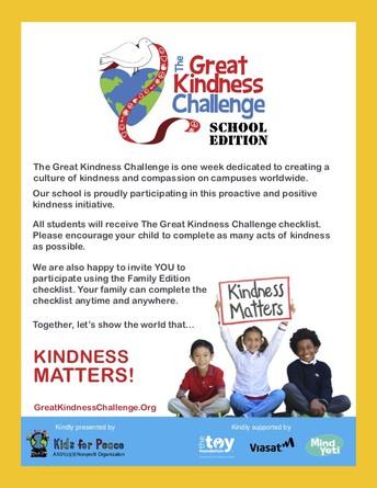 Rockbrook 2020 Great Kindness Challenge
