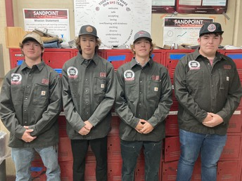 Welding Club Officers 20-21