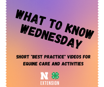 What to Know Wednesdays!