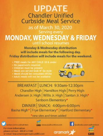Curbside Meal Service
