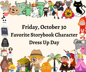 Picture of dress up day flyer