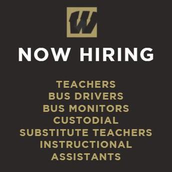 Warren Township is hiring!