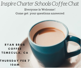 Inspire Charter School's Coffee Chat!