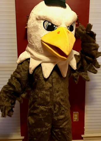 NEW: Interested in being our new Mascot, Storm the Screaming Eagle?