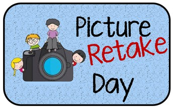 Picture Retake Day is Wednesday, November 11th