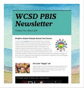 2016-17 Winter Newsletter: Positive School Climate