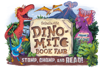 The Spring Book Fair is DINO-MITE!