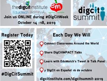 #DigCitSummit for #DigCitWeek in October