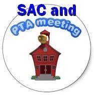 SAC/PTA November 11th December 9th