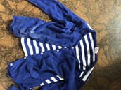 Blue Striped Sweater Gymboree size 5t