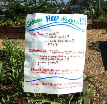 The Garden Needs YOU!