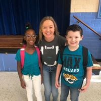 Mrs. Tejera and her students rockin' their JAG swag!