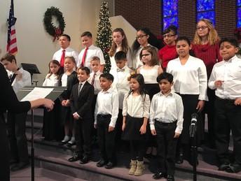 BCCA & Central Church Christmas Program