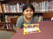 Risela built her own bridge...she did a great job!