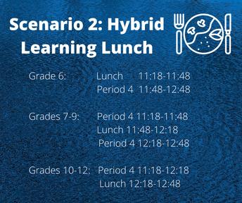 Hybrid Lunch Schedule