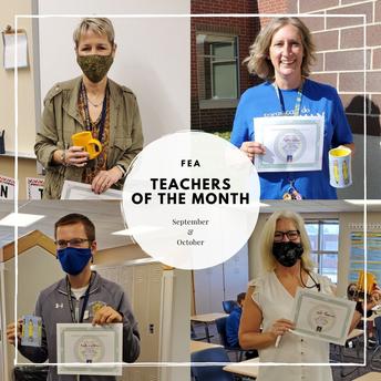 FEA Teacher of the Month
