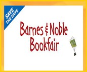 Barnes & Noble Bookfair is coming!!!!