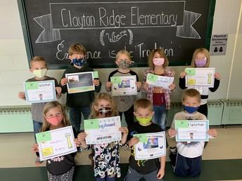 First Grade Award Winners