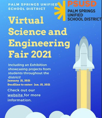 click to sign up for the science fair