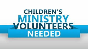 Our Children's Ministry Needs You!